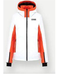 Colmar Veste Sapporo-Rec Femme - Blanc Coupes vent