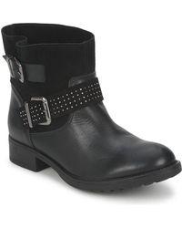 Betty London - Ursula Women's Mid Boots In Black - Lyst