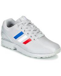 adidas Lage Sneakers Zx Flux - Grijs