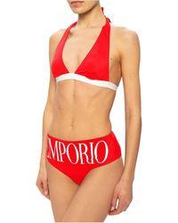 Armani Bikini 262533 1P324 - Mujer - Rojo