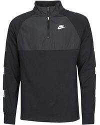Nike Sweaters M Nsw Ce Top Hz Bb Hybrid - Zwart