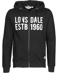 Lonsdale London Sweater Solfach - Zwart