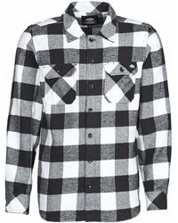 Dickies Overhemd Lange Mouw Sacramento - Zwart