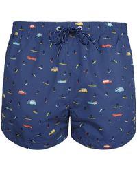 Pepe Jeans - - hommes Maillots de bain en bleu - Lyst