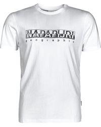 Napapijri T-shirt - Blanc