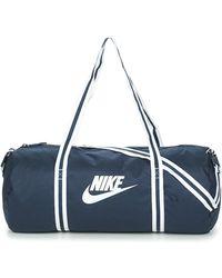 Nike Sporttas Heritage Duff - Blauw