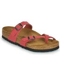 Birkenstock Slippers Mayari - Rood