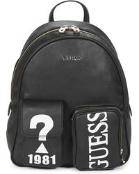 Guess Utility Vibe Large Backpack Black - Noir