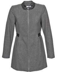 Vero Moda - Capella Women's Coat In Grey - Lyst