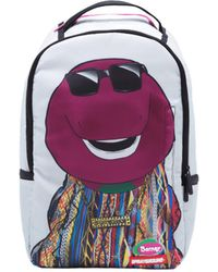 Sprayground - Biggie Barney Backpack - White Men's Backpack In White - Lyst