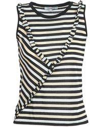 Morgan T-shirt Korte Mouw Dedi - Zwart