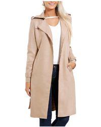 Infinie Passion - Beige Coat 00w060328 Women's Coat In Beige - Lyst