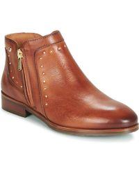 Pikolinos Royal W4d Mid Boots - Brown