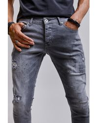 Redskins Jeans Jean STEED GRAPH - Gris