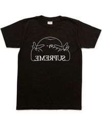 Supreme 2008 Amadeus Graphic T-shirt Black Men's Shirts And Tops In Black