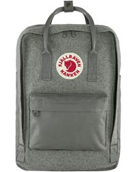 Fjallraven Tas Kanken Re-wool Laptop 15 - Grijs
