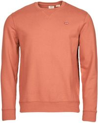 Levi's Sweatshirt NEW ORIGINAL CREW - Orange