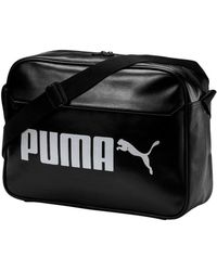 d43892d3f4a8 PUMA - Campus Reporter Bag Men s Shoulder Bag In Black - Lyst