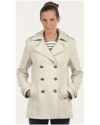 Mat De Misaine - Pea Jacket Florence Women's Coat In Other - Lyst