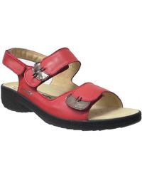 Mobils By Mephisto Getha Sandales - Rouge