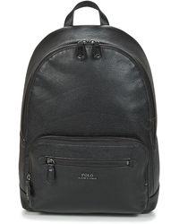 Polo Ralph Lauren Rugzak Strp Pbl Bp-backpack-medium - Zwart