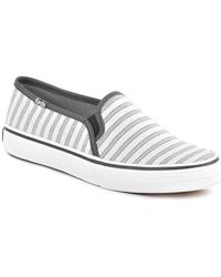 Keds - Deck Stripe Women's Shoes (trainers) In White - Lyst