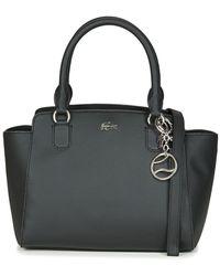 Lacoste Handtas Daily Classic Shopping Bag - Zwart