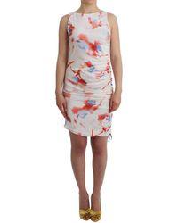 Gianfranco Ferré Multicolour Jersey Bodycon Dress Dress