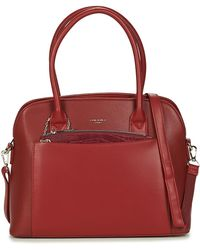 David Jones Handtas 61105-1-bordeaux - Rood