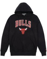 KTZ Sweat-shirt à capuche Chicago Bulls - Team Logo Sweat-shirt - Noir