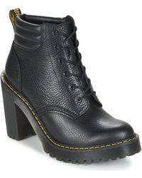Dr. Martens - Persephone Women's Low Ankle Boots In Black - Lyst