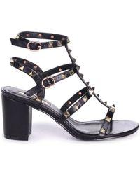 Linzi Tessa Women's Sandals In Black