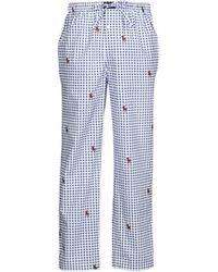 Polo Ralph Lauren Pyjamas/ Nachthemden PJ PANT SLEEP BOTTOM - Blau