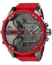 DIESEL Reloj analógico UR - DZ7370 - Rojo