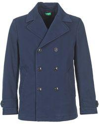 Benetton Fimara Coat - Blue