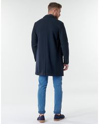 SELECTED Manteau - Bleu