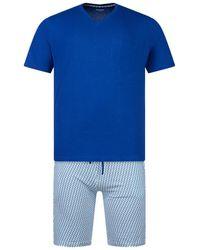 EMINENCE Pyjama court Pyjamas / Chemises de nuit - Bleu