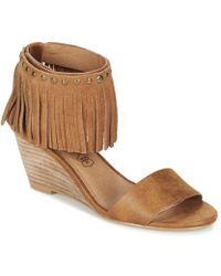 Les P'tites Bombes - Nadia Women's Sandals In Brown - Lyst