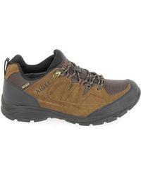 Aigle Vedur Low MTD Marron hommes Chaussures en Marron
