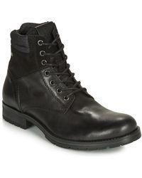 Jack & Jones Laarzen Jfw Zachary Leather - Zwart