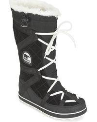 Sorel Snowboots Glacy Explorer - Zwart