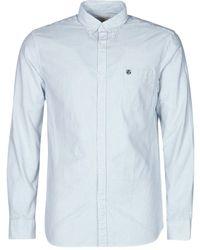 SELECTED Camisa manga larga SLHREGCOLLECT - Azul