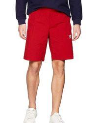 adidas Short 3-STRIPES SWIM COSTUME ROSSO - Rojo