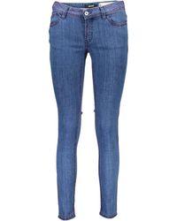 Roberto Cavalli S04LA0118 N31396 femmes Jeans en bleu