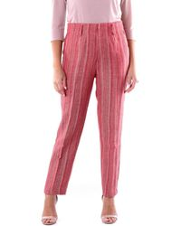 Forte Forte 7213 Chino Femme Chinots - Rose