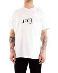 Givenchy T-shirt Korte Mouw Bm70uq3002 - Wit
