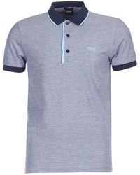 BOSS Athleisure - 50374389 Men's Polo Shirt In Blue - Lyst