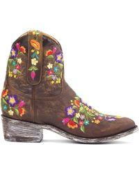 Mexicana Bottines Sorazipper Boots - Marron