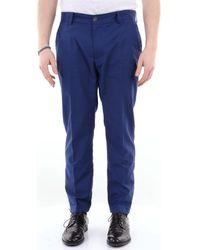 26.7 Twentysixseven MOSCOW20 Pantalons de costume - Bleu