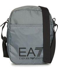 EA7 TRAIN PRIME U POUCH BAG SMALL A Sacoche - Gris